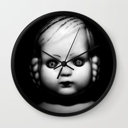 Doll I Wall Clock