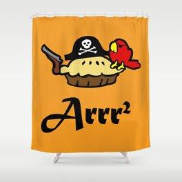 Pie Arrr Squared Shower Curtain