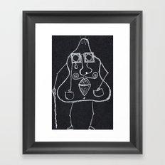 Monsieur Pomme de Terre Framed Art Print
