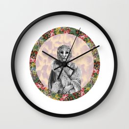 Leo - A Zodiac Sign Series Wall Clock