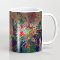 chaos Mugs featuring Chaos by lillianhibiscus