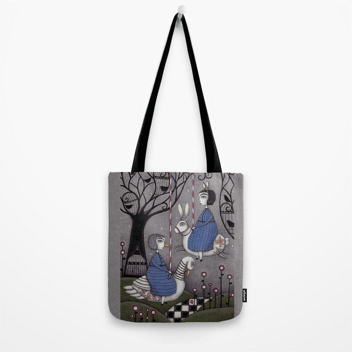 Merry-go-round Tote Bag