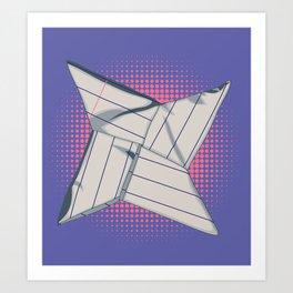 Paper Star Art Print
