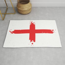England Splatter Rug
