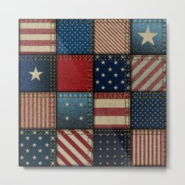 Americana Metal Print
