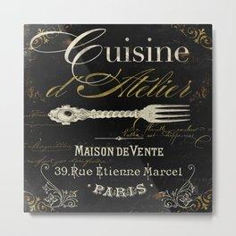 La Cuisine I Metal Print