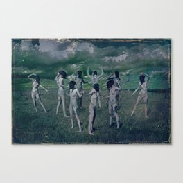 The nine Muses Canvas Print