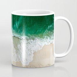 miami beach aerial view Coffee Mug