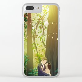 Redwoods Wedding Clear iPhone Case