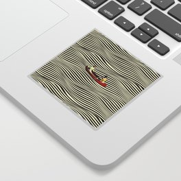 Illusionary Boat Ride Sticker