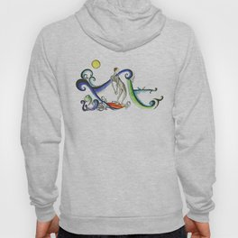 Nose riding Surfer  Hoody