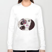 marina Long Sleeve T-shirts featuring Marina  by annelise johnson
