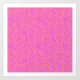 Petaluma, dayglo Art Print
