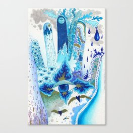 Hand of Protection Canvas Print