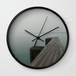 Foggy Day, Clear Mind Wall Clock