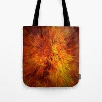 big bang Tote Bags featuring big bang by siloto