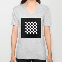Chess Collectible – Board (Globally Local Media) Unisex V-Neck