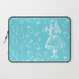 Alice in Wonderland and Jars Laptop Sleeve