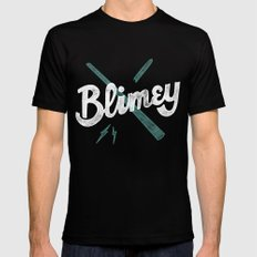 Blimey Black Mens Fitted Tee MEDIUM