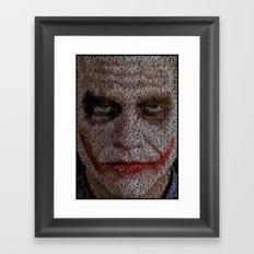 Midnight Toker Framed Art Print