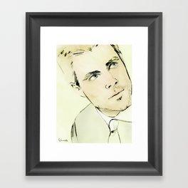 Arrow Portrait Series: Oliver Queen Framed Art Print
