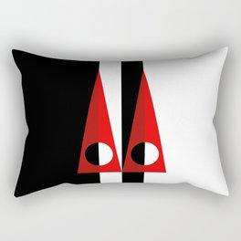 A GEOMETRICAL SUSPECT Rectangular Pillow