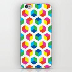 Cube pattern iPhone & iPod Skin