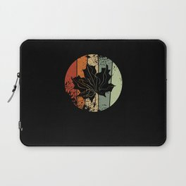 Maple Leaf Autumn Vintage Laptop Sleeve