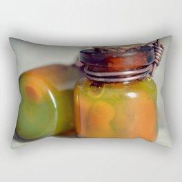 Bottle and formalin Rectangular Pillow