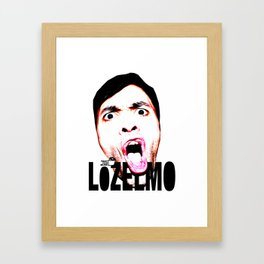 TOILET CLUB #lozelmo Framed Art Print