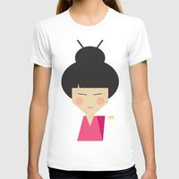 geisha T-shirts featuring Geisha by Page 84 Design