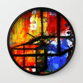 Thinking Outside The Box Wall Clock