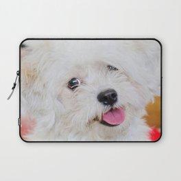 Emma - Bichon Frise / Shih Tzu Laptop Sleeve