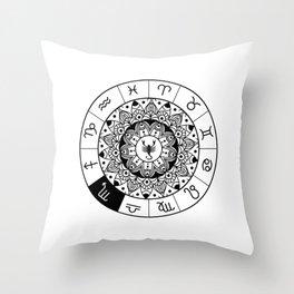 Scorpio  TShirt Zodiac Astrology Shirt Horoscope Gift Idea Throw Pillow