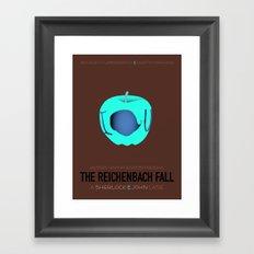 The Reichenbach Fall Framed Art Print