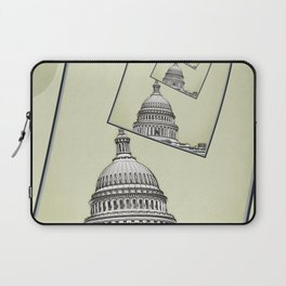 Political Spin Laptop Sleeve