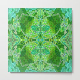 Vintage Dream of Green Metal Print