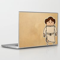 leia Laptop & iPad Skins featuring Leia by thejrowe