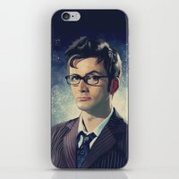david tennant iPhone & iPod Skins featuring David Tennant - Doctor Who 2 by KanaHyde