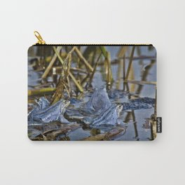 Blue Frogs 11 - Rana arvalis Carry-All Pouch