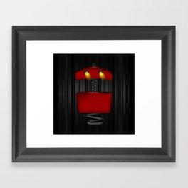 Tin Droid Framed Art Print