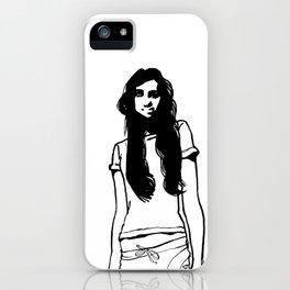 girl girl iPhone Case