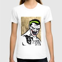 jared leto T-shirts featuring Mark Hamill + Jared Leto = The Joker by VanBof