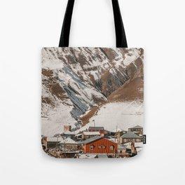 Small Village in Georgia Tote Bag
