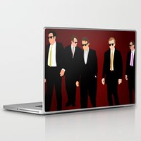 reservoir dogs Laptop & iPad Skins featuring Reservoir Dogs by Tom Storrer