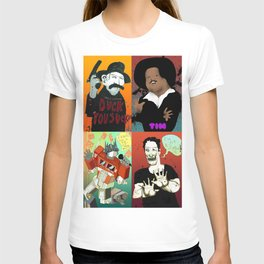 Pop mix of the some of the greats pop culture memories.  T-shirt