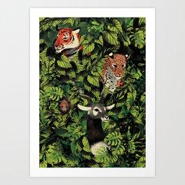 Forest Clutter Art Print