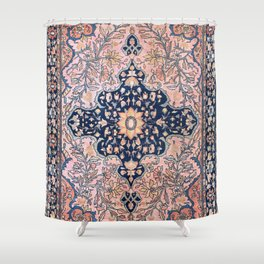 Sarouk  Antique West Persian Rug Print Shower Curtain