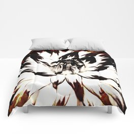 FLAMES AND FLOWES Comforters