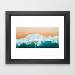 Australian Beach Framed Art Print
